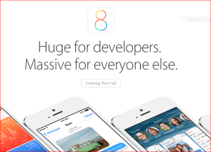 iOS 8 Preview